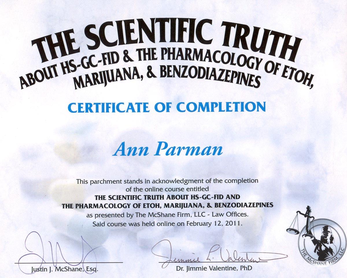 Ann E. Parman resume